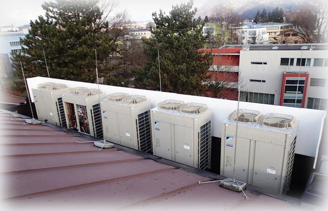 Referenzen Im Bereich Kältetechnik Und Klimaanlagen Technik Klimaanlagen Von Daikin Innovativ Benutzerfreundlich